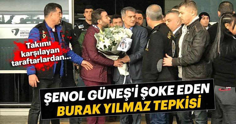 Beşiktaş taraftarından Şenol Güneş'i şoke eden Burak Yılmaz tepkisi