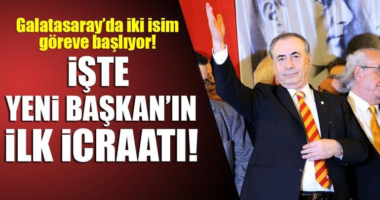 İşte Mustafa Cengiz'in ilk icraatları