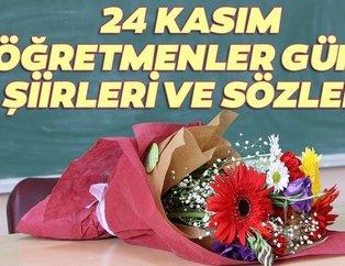 Öğretmenler Günü şiirleri! 24 Kasım Öğretmenler Günü kısa ve uzun şiirleri, sözleri ve mesajları!
