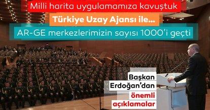 Başkan Erdoğan, Milli Harita Uygulaması Töreni'nde önemli açıklamalarda bulundu!