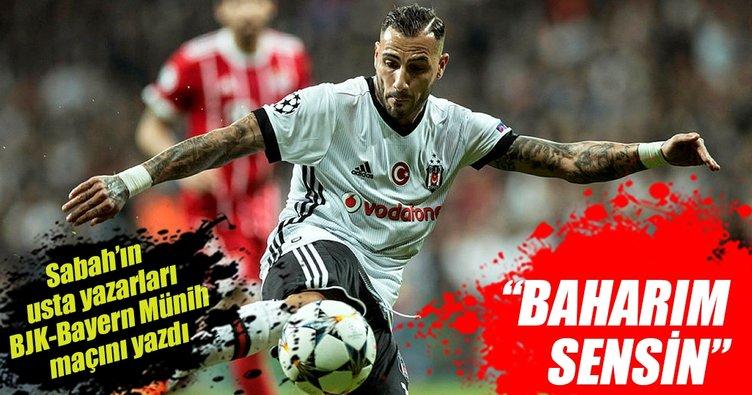 Spor yazarları Beşiktaş-Bayern Münih maçını yorumladı