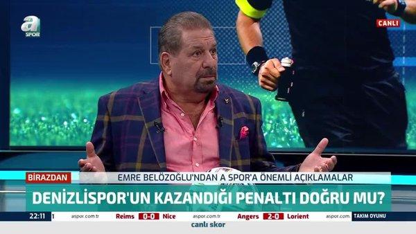 Erman Toroğlu Denizlispor'un Fenerbahçe maçında kazandığı penaltıyı yorumladı