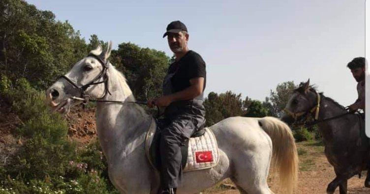 CHP'li Akpolat 978 at kaybolunca atlarla çektirdiği fotoğrafları sildi!