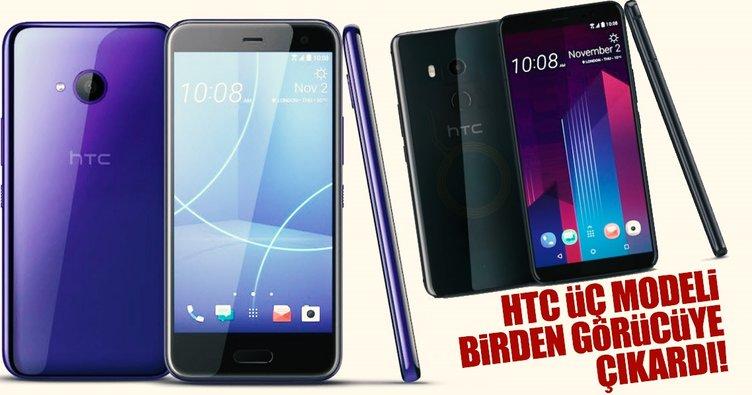 HTC yeni telefonlarını tanıttı
