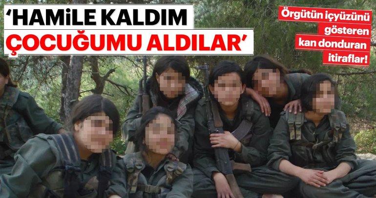 PKK'nın kaçırıp taciz ettiği genç kızlardan kan donduran itiraflar