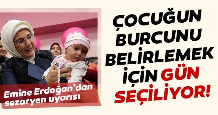 Başkan Erdoğan'ın eşi Emine Erdoğan, İlk Adım Ebe...