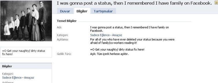 En ilginç Facebook sayfaları...