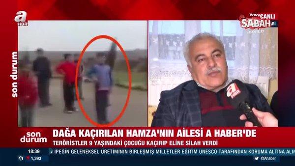 PKK 9 yaşında dağa kaçırdığı Hamza'nın yeni fotoğrafını ailesine gönderdi