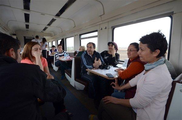 Doğu Ekspresi`nde 25 saatlik yolculuk