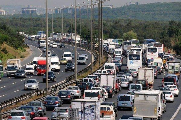 Fatih Sultan Mehmet Köprüsü'nde trafik çilesi