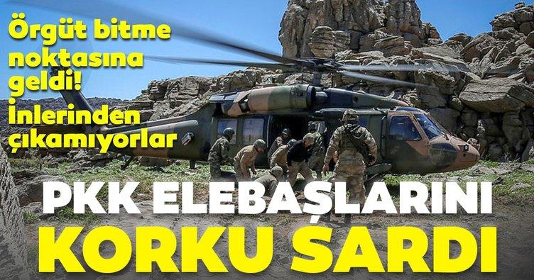 PKK elebaşları inlerinden çıkamıyor