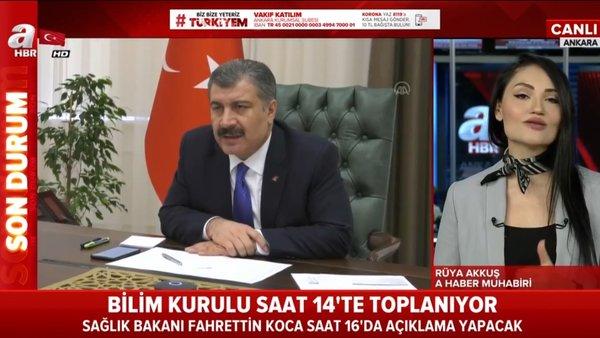 Son dakika: Sağlık Bakanı Fahrettin Koca'dan KoronavirüsBilim Kurulutoplantısı sonrası açıklama (17 Nisan 2020 Cuma)   Video