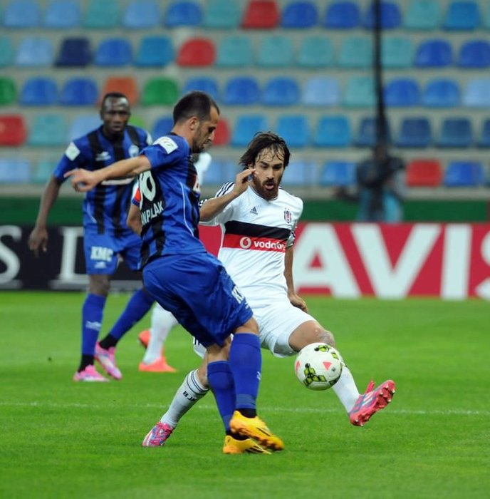 K. Erciyesspor - Beşiktaş maçının fotoğrafları