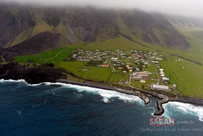 Burada para geçmiyor! Dünyanın en ilginç adası: Tristan de Cunha