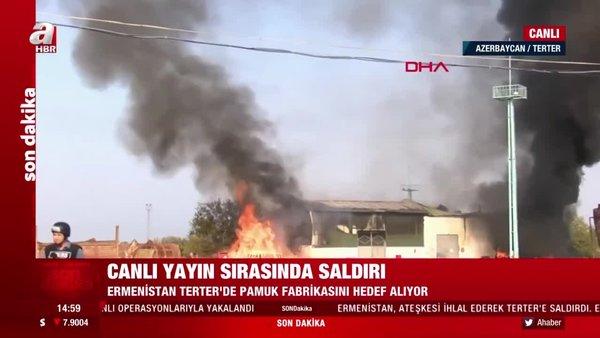 Son dakika! Canlı yayında saldırı! Ermenistan'dan yeni kalleşlik | Video