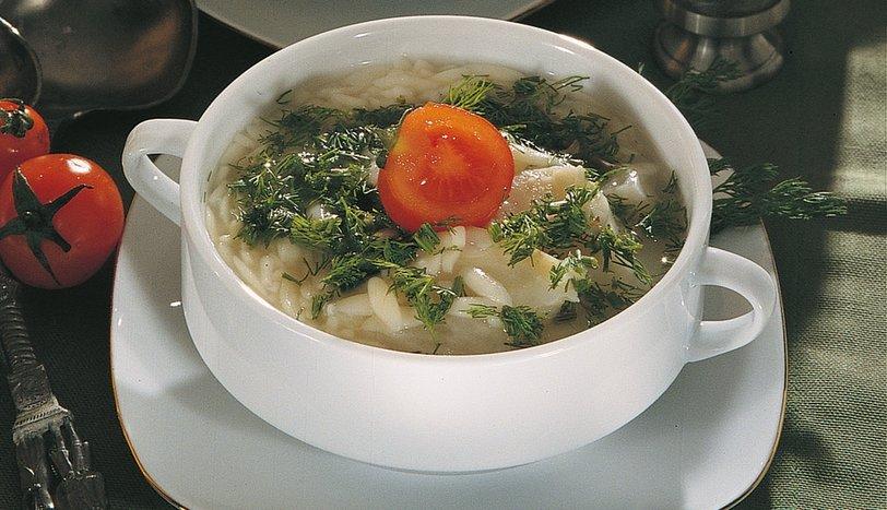 Şehriyeli Kereviz Çorbası