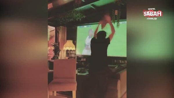 Ünlü Piyanist Fazıl Say'ın Trabzonspor - Fenerbahçe maçını izlerken çılgına döndüğü anlar sosyal medyada olay oldu | Video