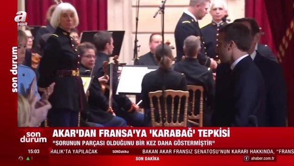 Bakan Akar'dan Fransa'ya Karabağ tepkisi | Video