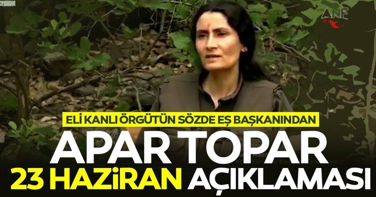 PKK-KCK'nın sözde eÅ? baÅ?kanından apar topar 23 Haziran açıklaması: Ä°mamoÄ?lu'nu destekliyoruz!