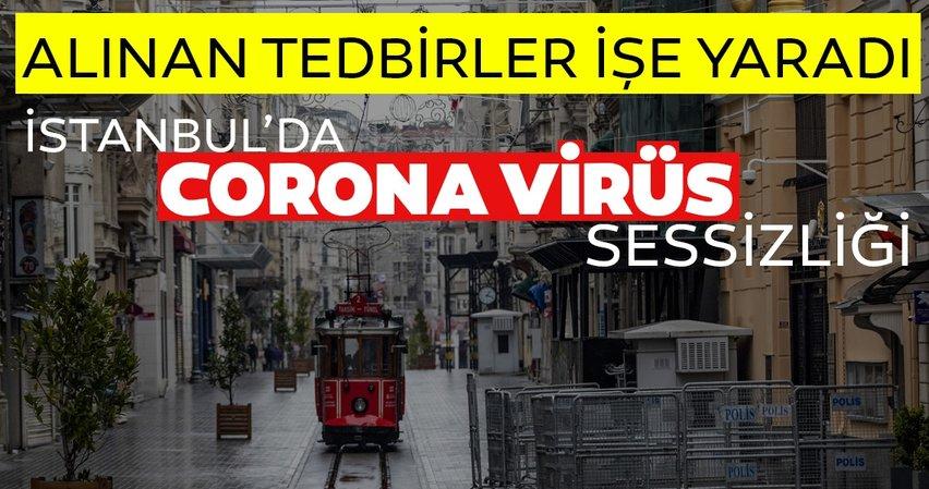 Son dakika: Corona virüs tedbirleri kapsamında İstanbul'da sokağa çıkma oranı düştü