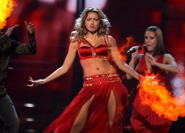 Hadise Eurovision'da