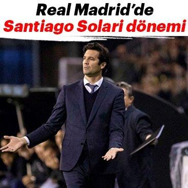 Real Madrid'de Santiago Solari dönemi