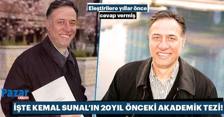 Kemal Sunal Türkiye'deki değerler bunalımının simgesidir