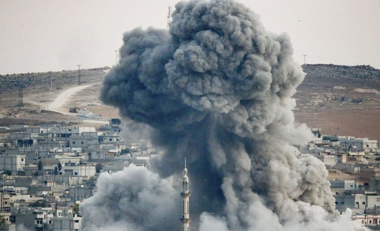 Kobani'deki savaş Türkiye'den böyle görünüyor