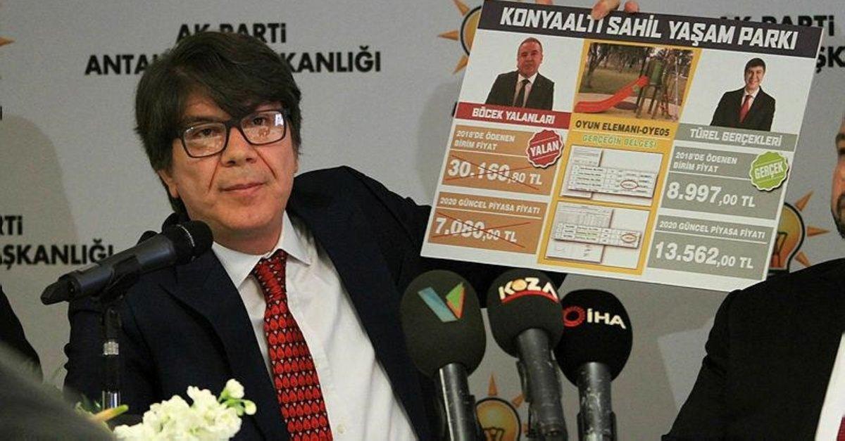 Menderes Türel: İftiracı Muhittin Böcek istifa etmeli - Sayfa 4 ...