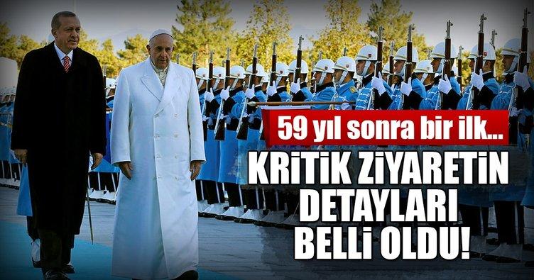 Erdoğan'ın Vatikan ve İtalya'ya gerçekleştireceği ziyarete ilişkin açıklama