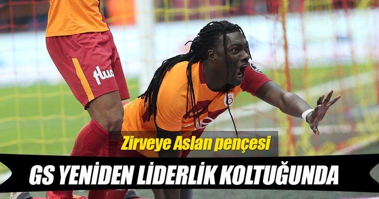 Galatasaray yeniden liderlik koltuğunda