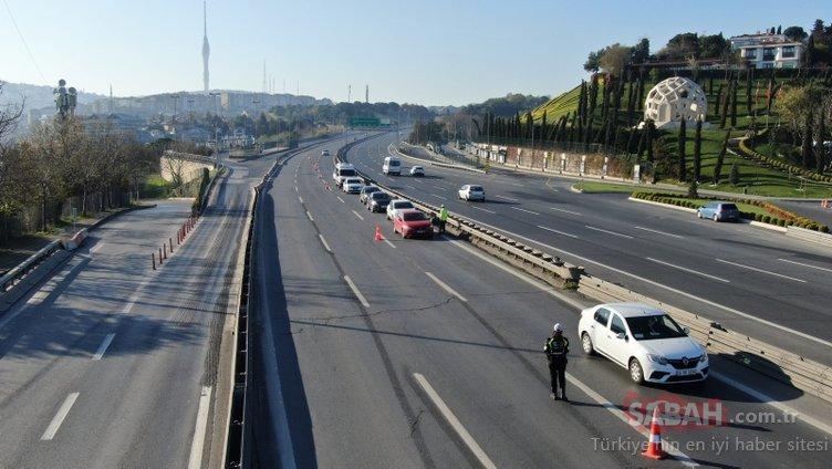Bu sabah İstanbul! Sokağa çıkma kısıtlaması saat 00.00'da başladı...