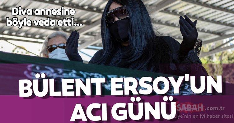 Diva Bülent Ersoy annesine böyle veda etti… Sanatçı dostu Gülben Ergen yalnız bırakmadı!