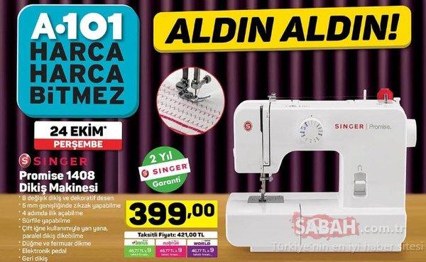 A101 aktüel ürünler kataloğu 24 Ekim'den itibaren dev fırsat! İşte A101 aktüel ürünler tam listesi