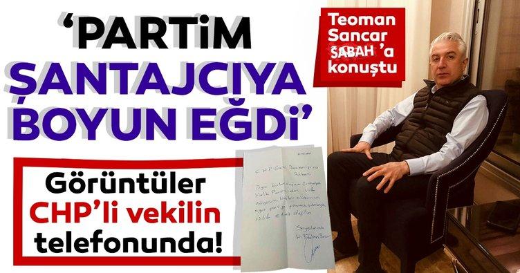SON DAKİKA | İstifa mektubum hazırlanmıştı bile... Eski CHP Milletvekili Teoman Sancar SABAH'a konuştu!