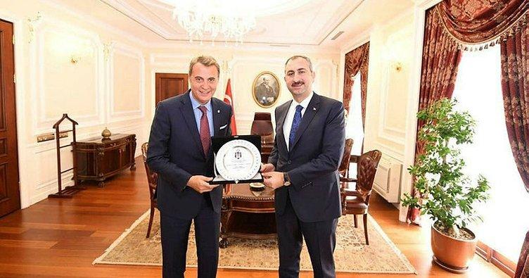 Fikret Orman'dan Adalet Bakanı Gül'e ziyaret