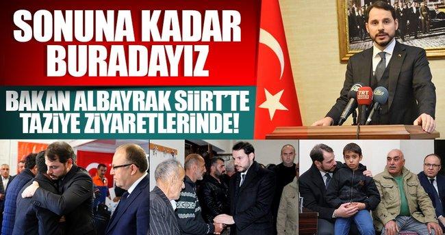 Bakan Albayrak: Devlet bütün imkanlarını seferber etti