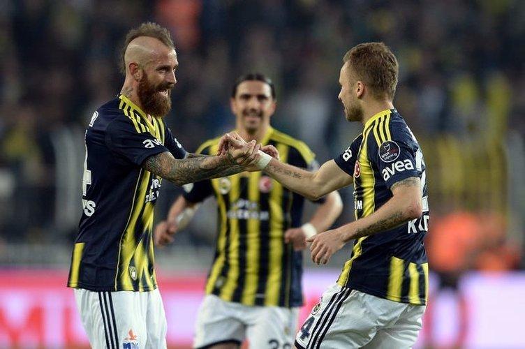 Fenerbahçe - MP Antalyaspor maçının fotoğrafları