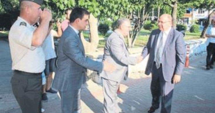 Muğla Valisi Çiçek Fethiye'ye veda etti