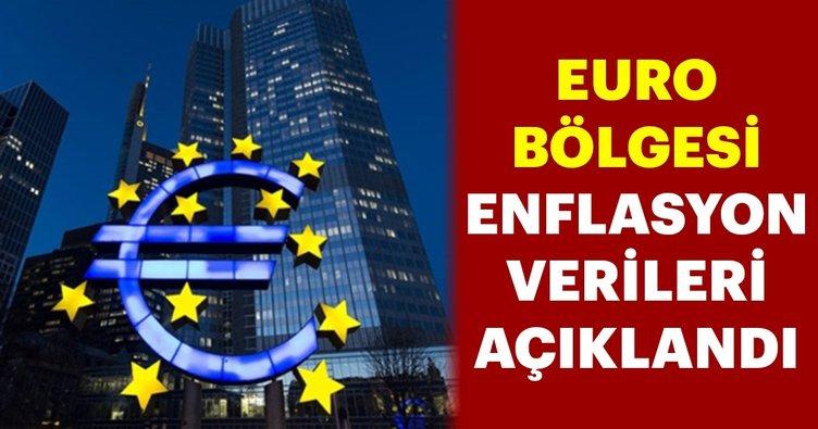 Euro Bölgesi'nde enflasyon verileri açıklandı!