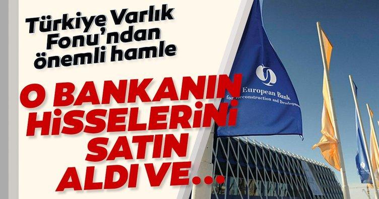 TVF'den flaş 'Avrupa İmar ve Kalkınma Bankası' hamlesi