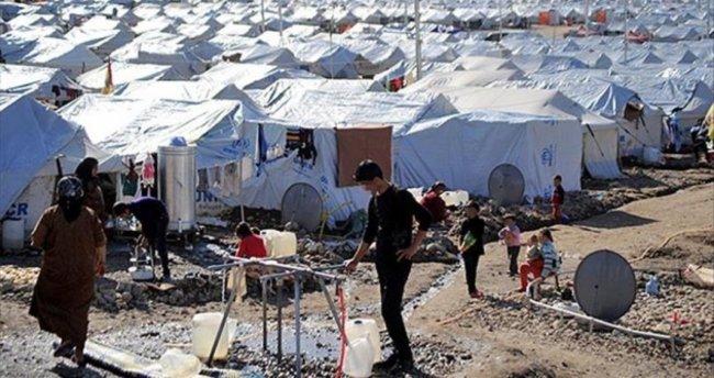 18 bin kişilik mülteci kampı inşa ediliyor