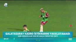 Galatasaray ideal kadrosunu bulamadı