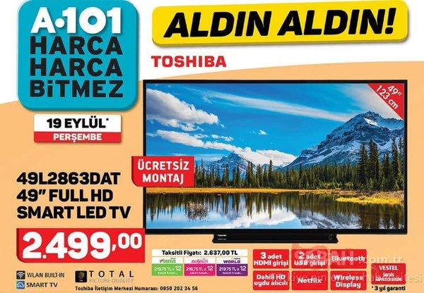 A101 Aktüel ürünler katoloğu! (19 Eylül Perşembe) A101 Aktüel ürünler listesi ve fiyatları yayınlandı!