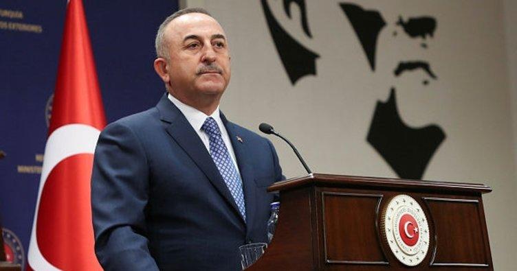 Son dakika: Dışişleri Bakanı Mevlüt Çavuşoğlu: Bildiri darbeyi çağrıştıracak üslupta