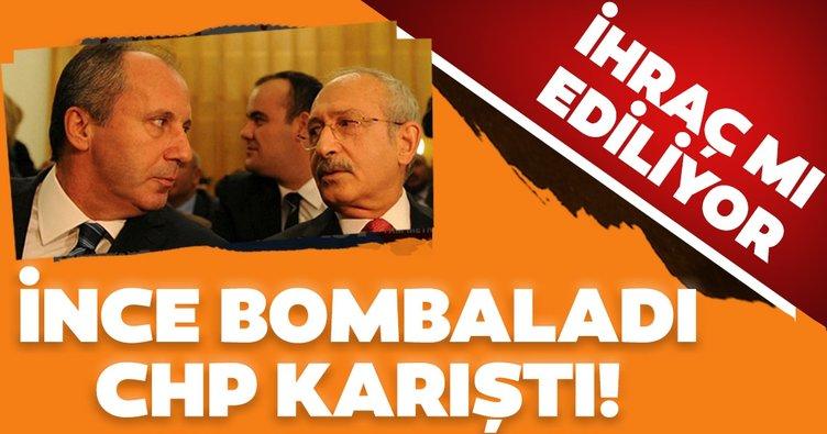 Şebnem Bursalı A Haber'de açıkladı: Muharrem İnce CHP'den ihraç edilebilir!