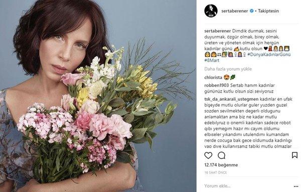 Ünlülerin Instagram paylaşımları (09.03.2018)