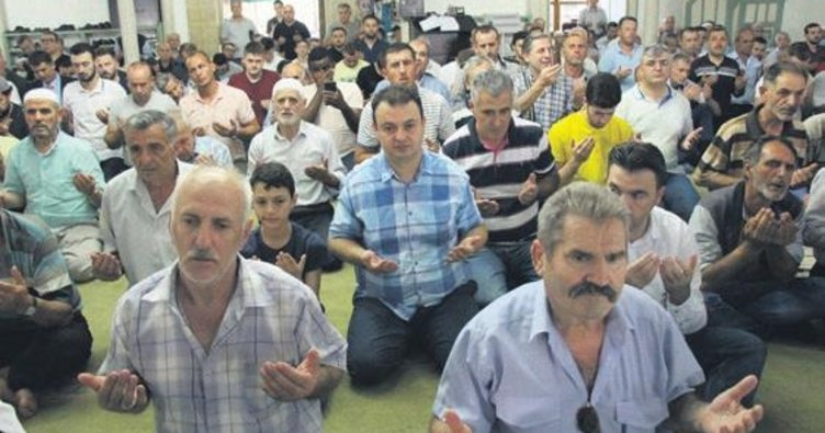 15 Temmuz şehitleri Makedonya'da anıldı