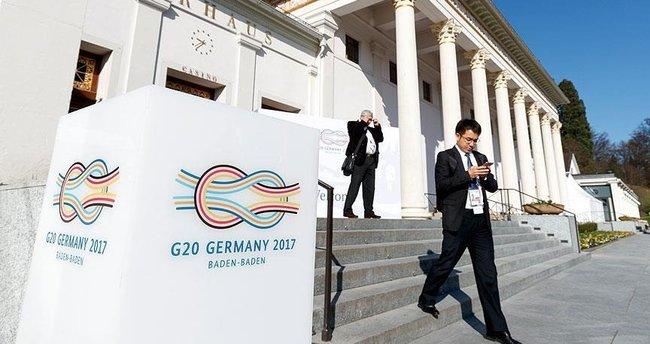 G20 maliye bakanları ve merkez bankası başkanları toplantısı başladı