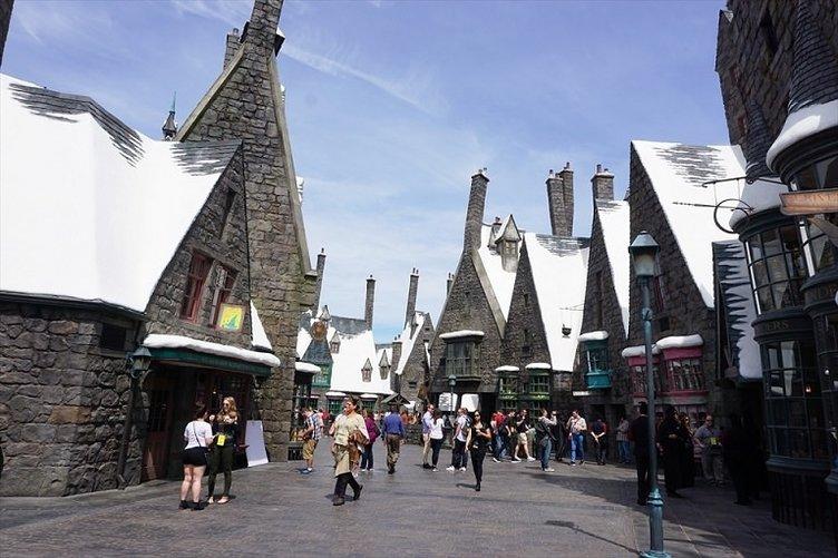 Harry Potter parkı açıldı